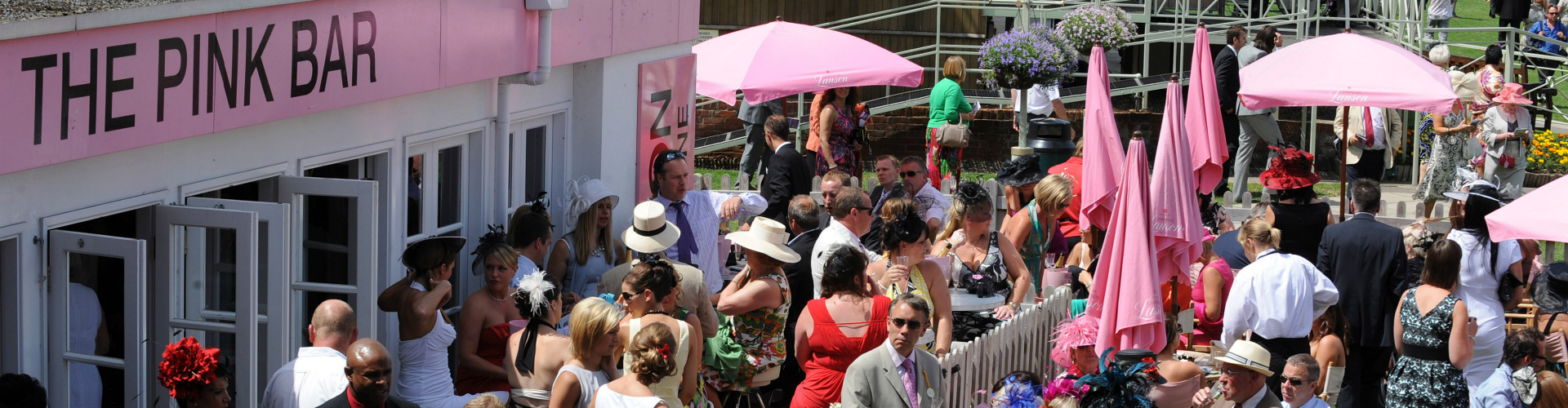 Corporate Hospitality Banner Image - The Pink Bar